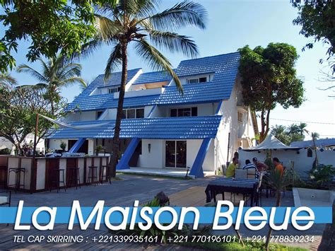 restaurant la maison bleue cap skirring