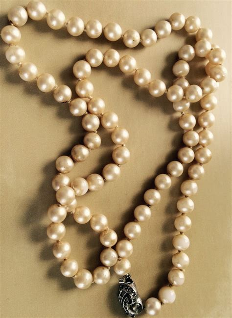 restringing necklace should you restring pearls the pearl