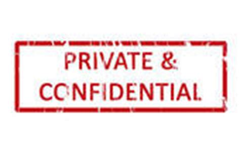 confidential rubber st confidential clipart