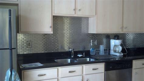 stainless tiles for backsplash modern ikea stainless steel backsplash homesfeed