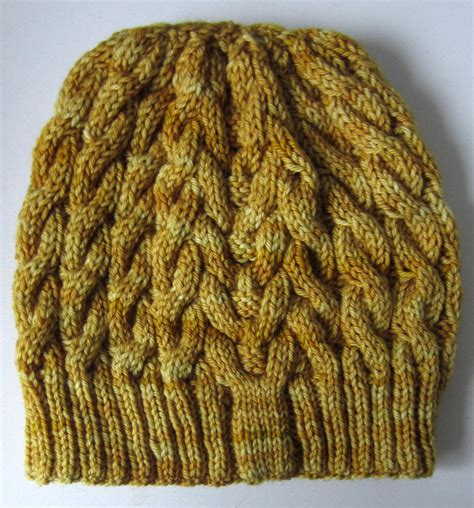 all free knitting patterns cabled beanie allfreeknitting