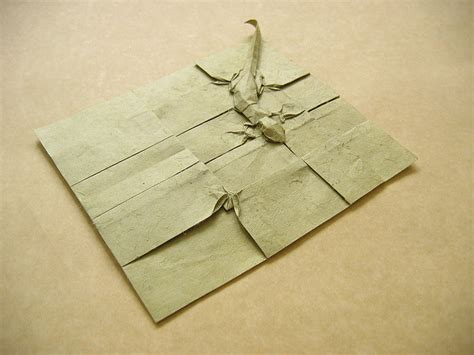 origami fly geckos and fly origami