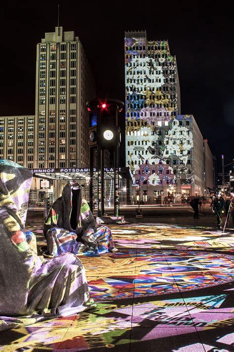 berlin painting festival festival of lights berlin potzdamer platz guardians of