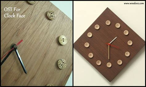small clocks for craft projects one side teak ost for your big medium and small