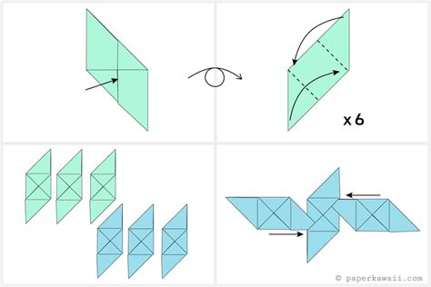 how to make origami cube free coloring pages how to make a modular origami cube