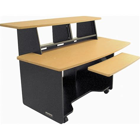 studio desk omnirax presto studio desk musician s friend