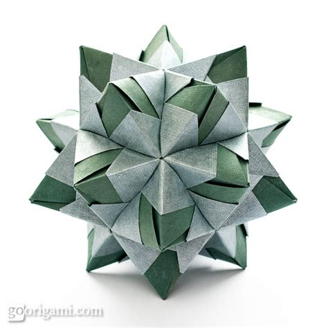 joint origami origami spikes and stellated polyhedra gallery go origami