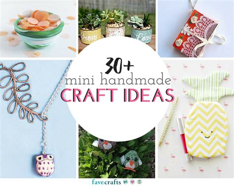 craft projects for 30 mini handmade craft ideas favecrafts
