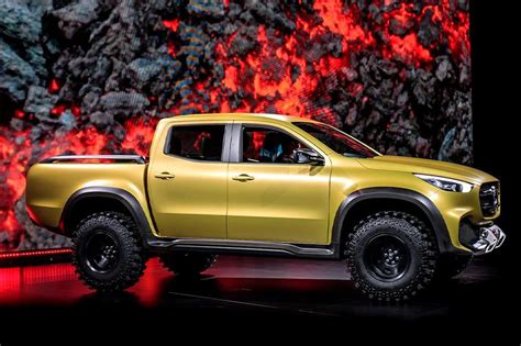 Mercedes X Class Truck Price by Mercedes X Class Truck Unveiled To Launch In