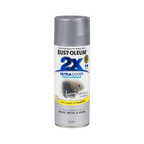 spray paint generator rust oleum 312g ultra cover 2x metallic aluminium spray paint