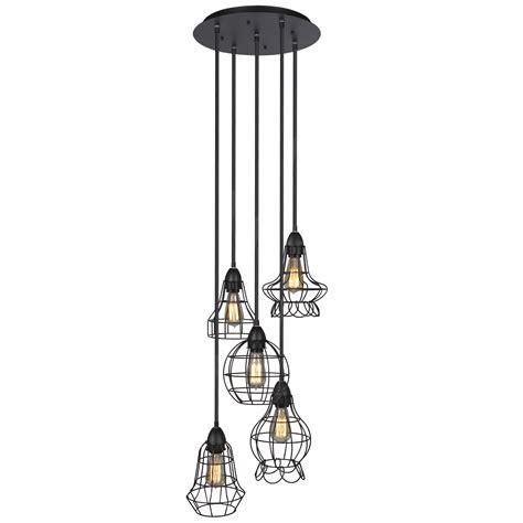 hanging chandelier light fixture industrial vintage lighting ceiling chandelier 5 lights