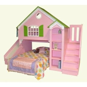 doll house loft bunk bed dollhouse bunk beds foter