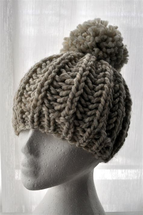 free knitting patterns for chunky wool hats free pattern knit fisherman ribbed hat