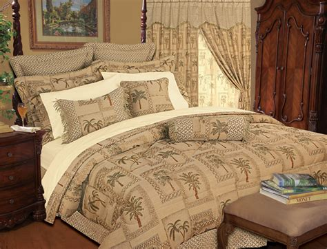tree bed sets 9 gold imperial comforter set