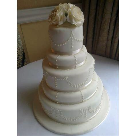 beaded cake 5 tier beaded wedding cake with sugar roses celebration
