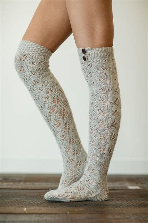 knit boot socks knitted boot socks my style