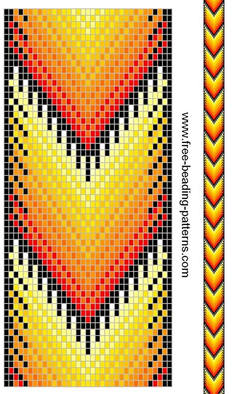 beading designs 284 best bead loom pattern images on