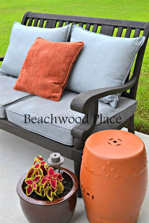 diy chalk paint outdoor furniture 17 best ideas about painted outdoor furniture on