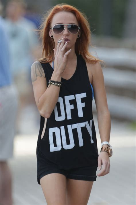 maci bookout smoking cigarettes