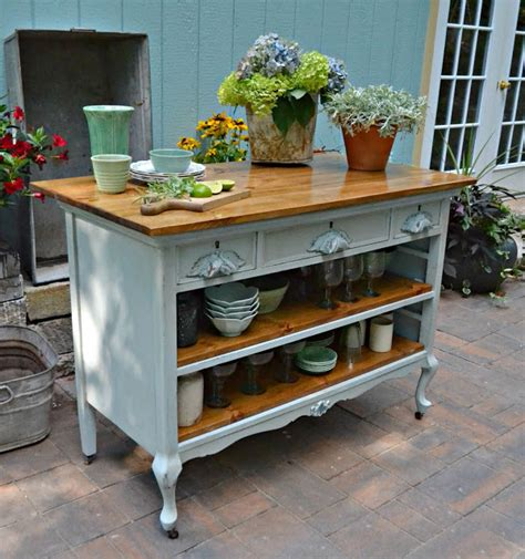 kitchen island antique 15 funky kitchen islands that will make you jump on the repurposing trend