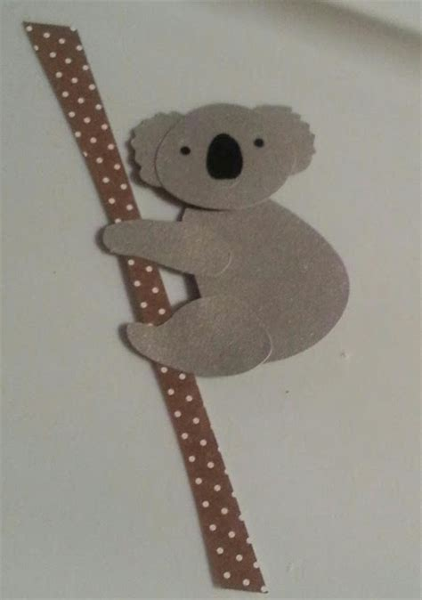 koala craft for kate s embroidery and crafts koala silhouette craft