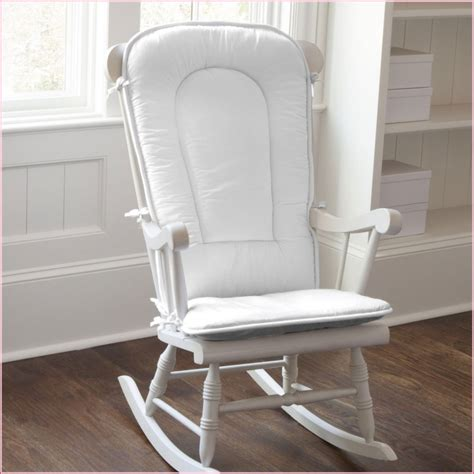 gliders and rocking chairs for nursery baby nursery looking white painted wooden glider