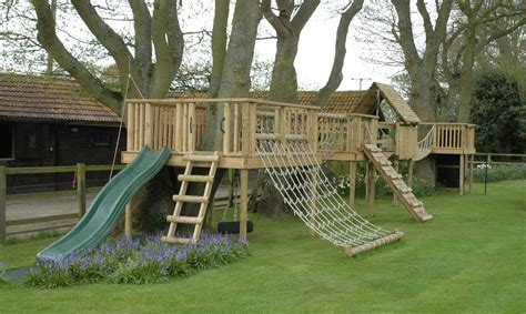 backyard climbing structures wooden climbing frames promoting outdoor play the active