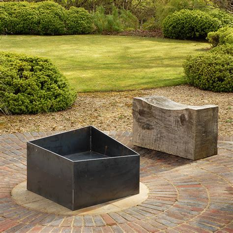 welded pit basalt welded steel pit by magma firepits