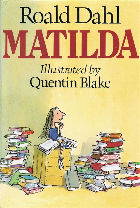 pictures of roald dahl books library of rescued books matilda by roald dahl