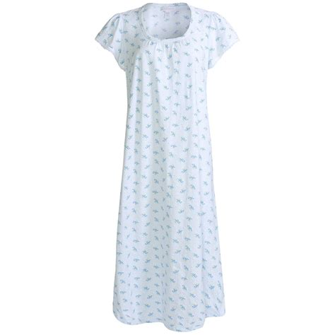 cotton knit nightgowns nwt 55 carole hochman printed nightgown cotton knit