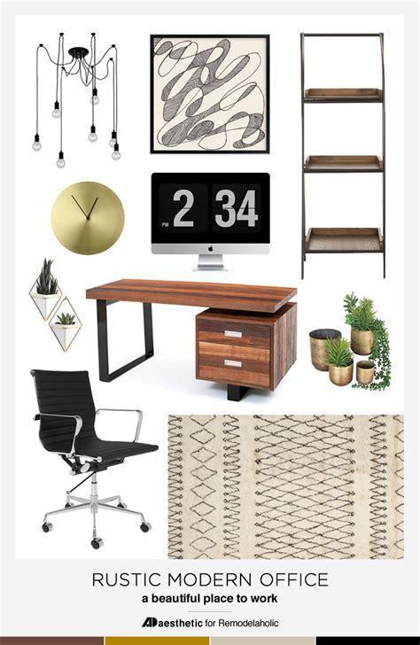 home office design board s rustic modern home office design