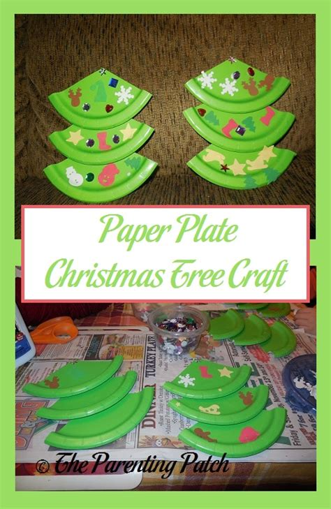 paper plate tree paper plate tree craft parenting patch