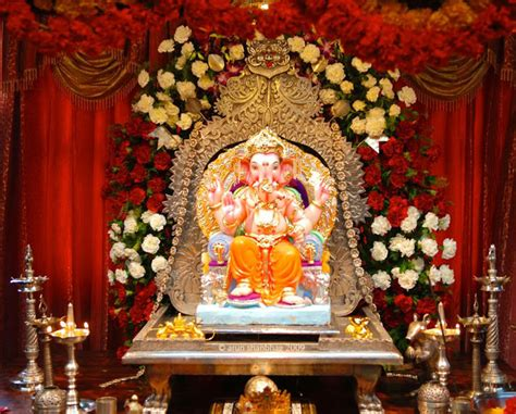 decorations at home ganpati decoration ideas for home the royale