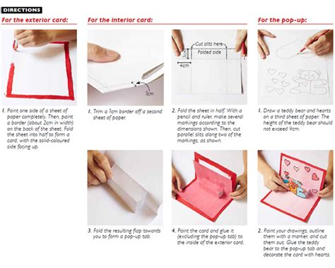 how to make a pop up card step by step how to make a pop up card in 7 steps world