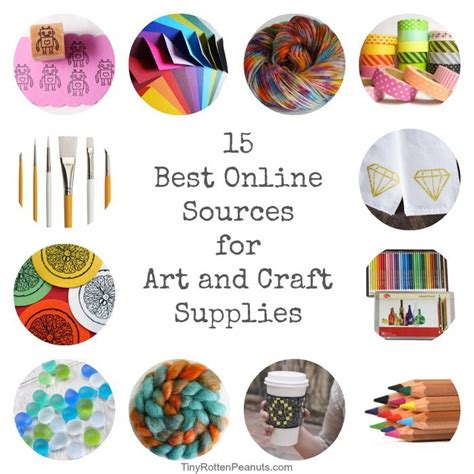 arts and crafts supplies for 25 best ideas about craft supplies on craft