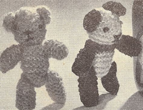tiny teddy knitting patterns 53 best miniature teddy bears images on