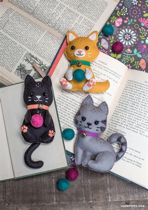 felt craft projects patterns diy felt craft kittens felt crafts felt and kittens