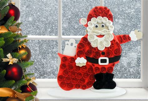 santa claus craft for craft ideas for santa claus craft quill on