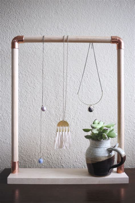 how to make a jewelry stand diy jewelry stand