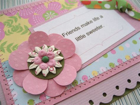 how to make friendship cards etsygreetings handmade cards june 2010
