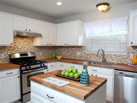 white kitchen cabinets with butcher block countertops butcher block countertops great option for any kitchen