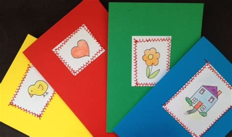 children s cards to make greeting card easter card house