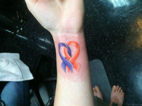 32 pretty cancer ribbon tattoos on wrist