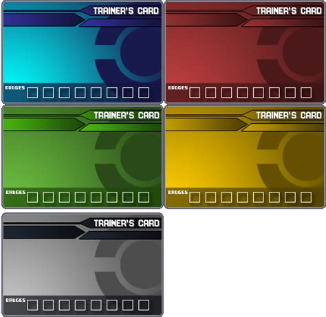 make trainer card trainer card templates by ford206 on deviantart