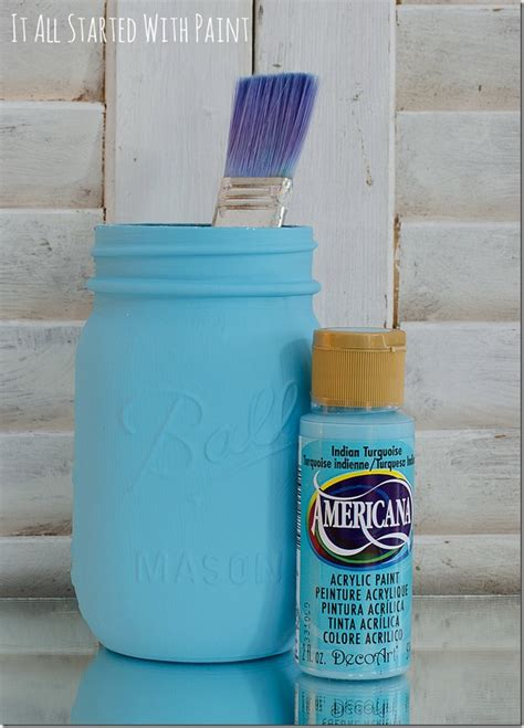 how to distress acrylic paint on canvas distressed jars tgif this is