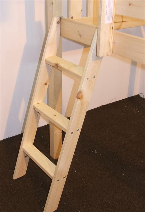 bunk bed ladder only bunkbed ladders pine or metal bunk bed ladders