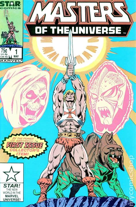 pictures of comic books masters of the universe 1986 2nd series marvel
