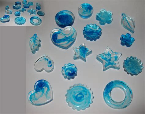 how to make jewelry with resin selling resin jewelry blue 1 by flixdragoness on deviantart