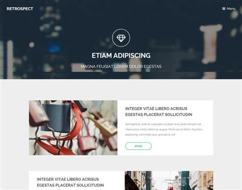 13 free html5 css3 blog website templates exclusive