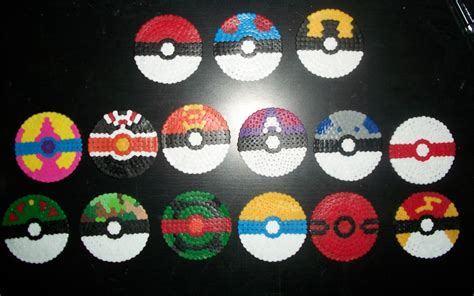 pokeball perler bead pattern 1000 images about perler on perler